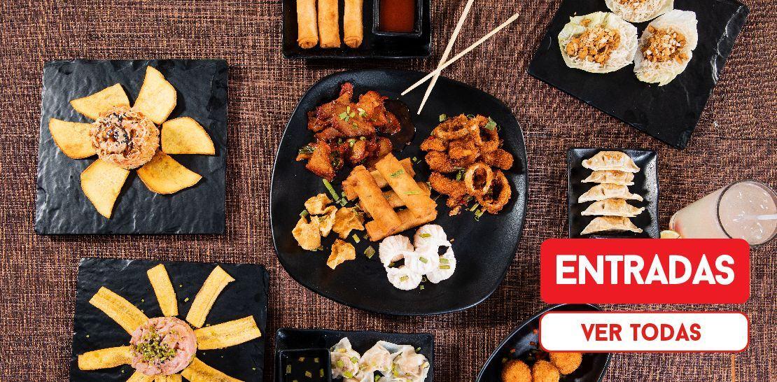 Categoria Entrada  -  Restaurantes YAO