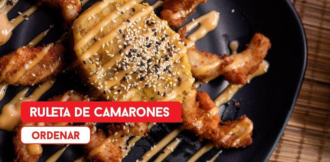 Ruleta Camarones  -  Restaurantes YAO