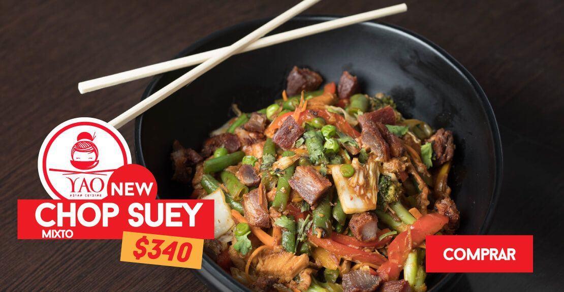 Chop Suey  -  Restaurantes YAO Asian Cuisine