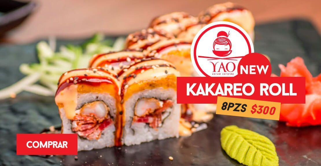 KAKAREO ROLL  -  Restaurantes YAO Asian Cuisine