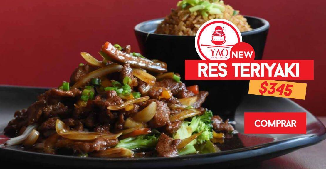 Res Teriyaki  -  Restaurantes YAO Asian Cuisine