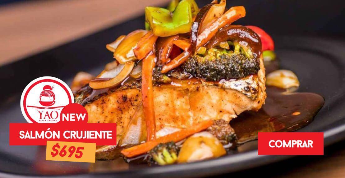 Salmon Crujiente  -  Restaurantes YAO Asian Cuisine